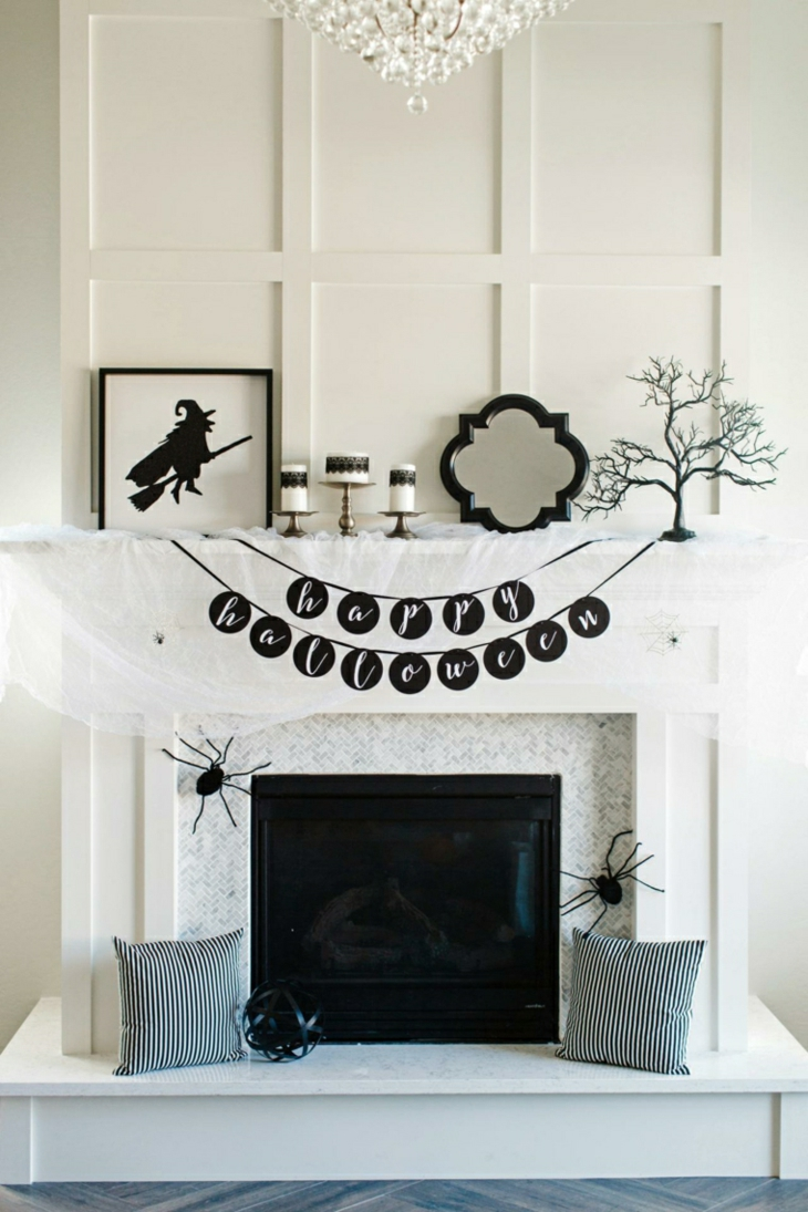 decoracion-halloween-concepto-materiales