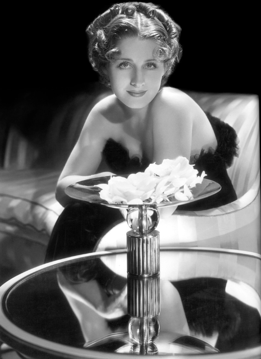 Norma Shearer - by George Hurrell 1934