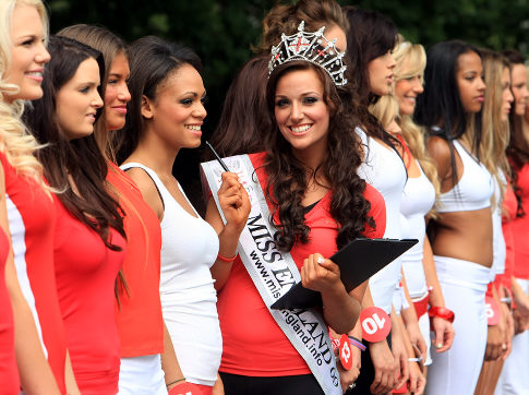 Miss England boot camp