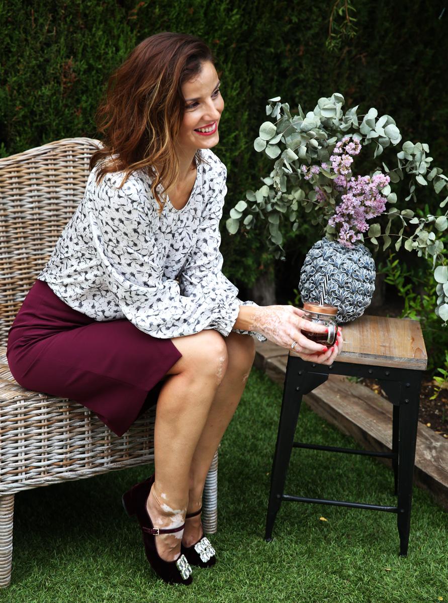 blusa adriana flores