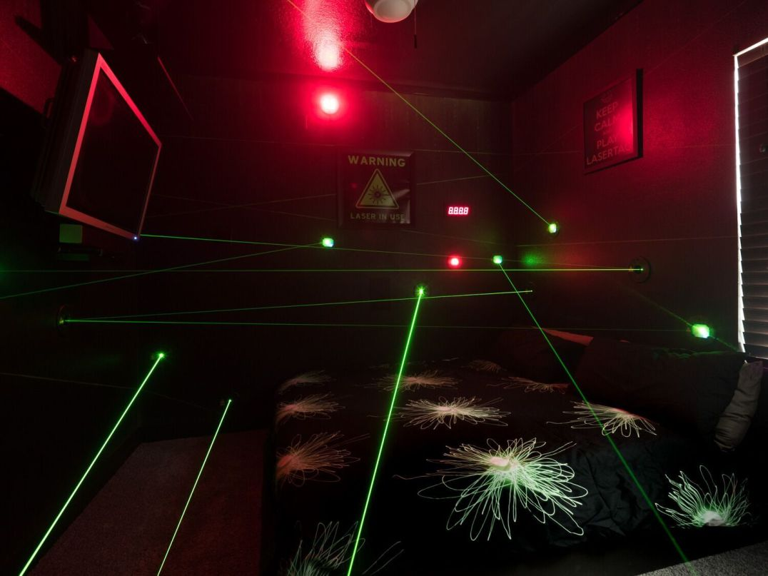 laser bedroom