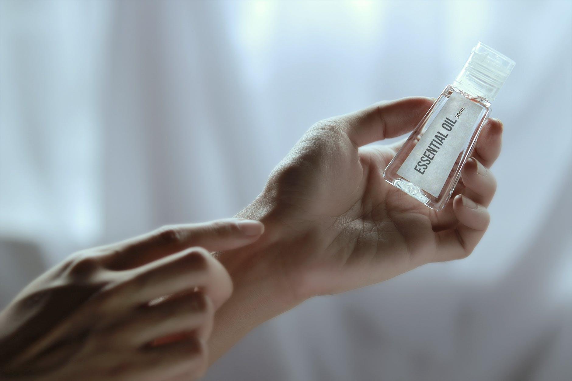 aromatherapy beauty blur bottle