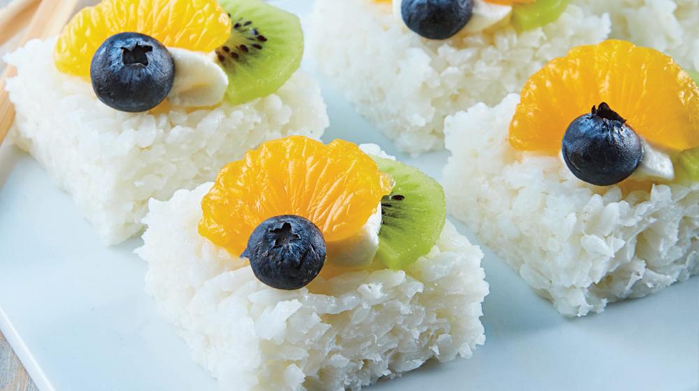 Sushi-frutas