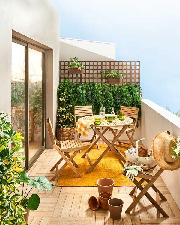 Cómo convertir tu balcón, por pequeño que sea, en tu lugar preferido de la casa
