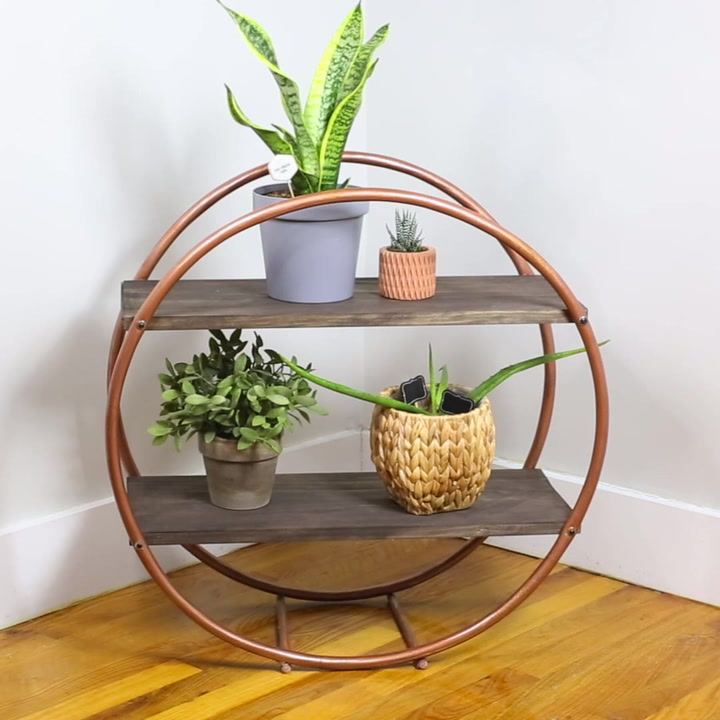 How to Build a Hula Hoop Shelf – A Stylish Storage Solution